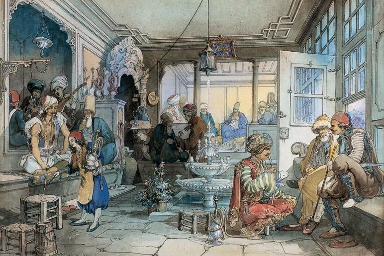 kahve mekanlarının tarihi