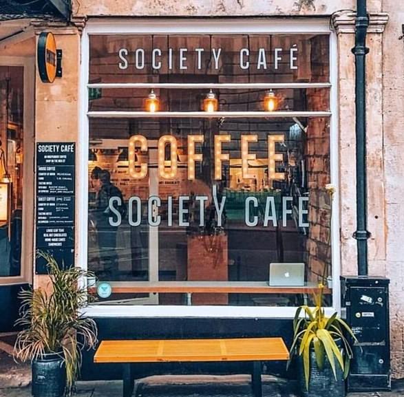 society cafe ingiltere