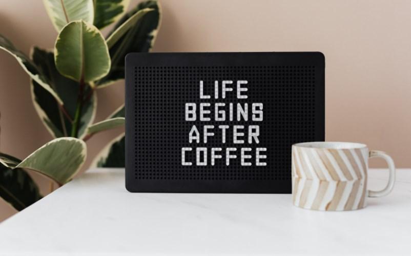 hayat kahveden sonra başlar