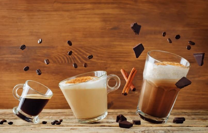 çikolatalı buzlu kahve