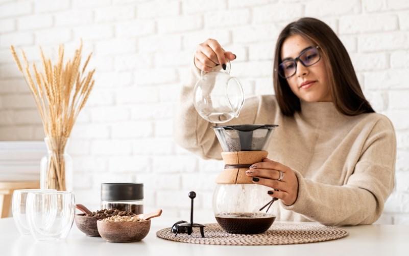 Chemex kahve demleme