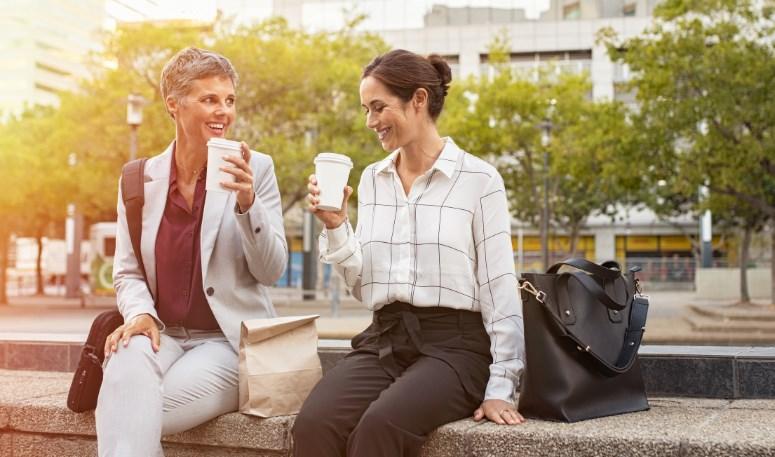 kahve iş kadınları